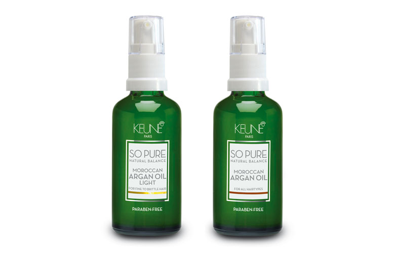argan oil keune