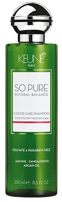 shampoings spécialisés pour cheveux colorés