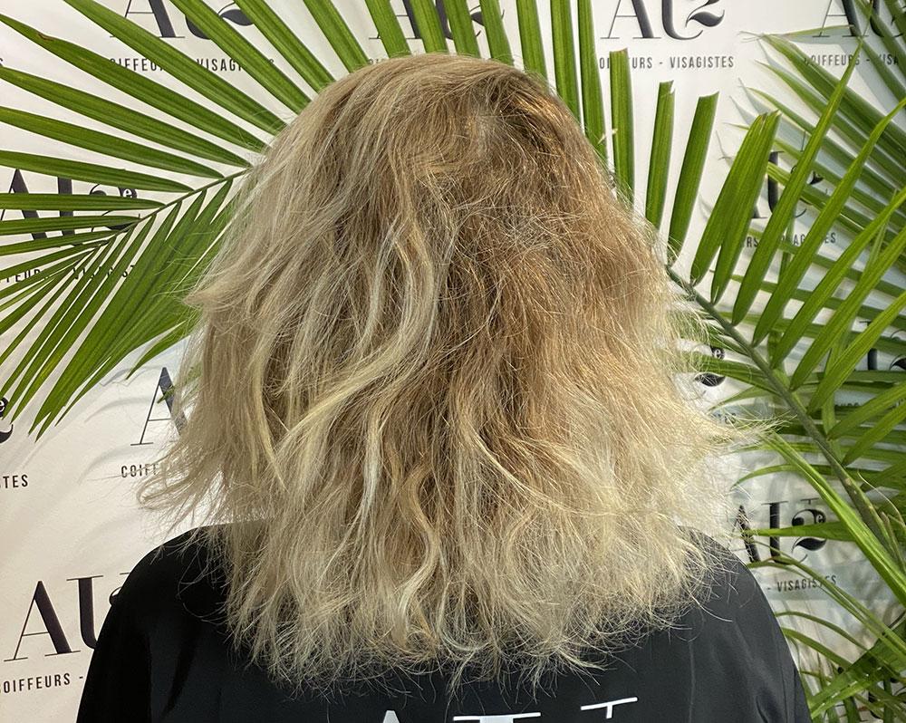 traiter cheveux sec