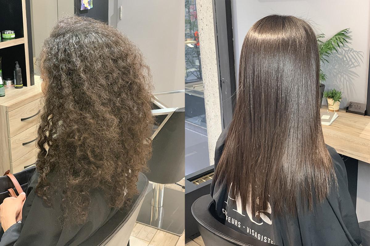 lissage pour les cheveux maghrébins